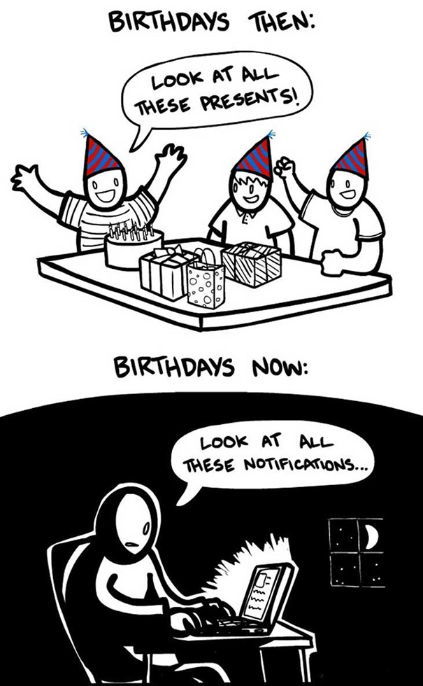Birthdays then and now-people re-el magazine