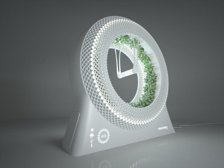 "perierga.gr - ""Πράσινος"" τροχός για καλλιέργεια φυτών!"