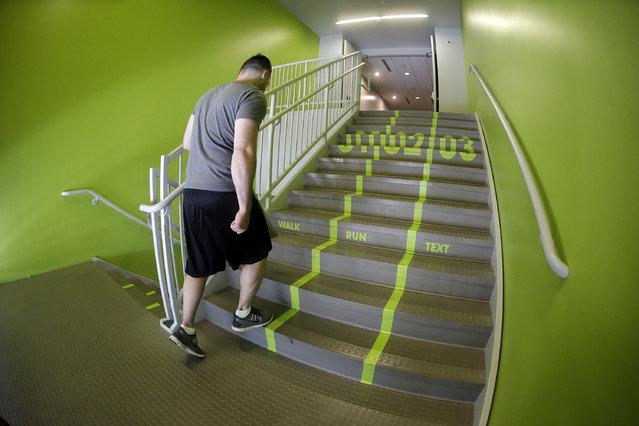 "perierga.gr - ""Έξυπνες"" σκάλες σε πανεπιστήμιο της Γιούτα!"