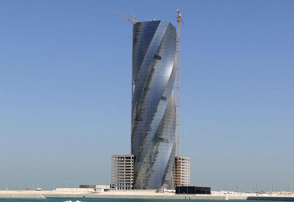 perierga.gr - Ο περιστροφικός πύργος του Μπαχρέιν!