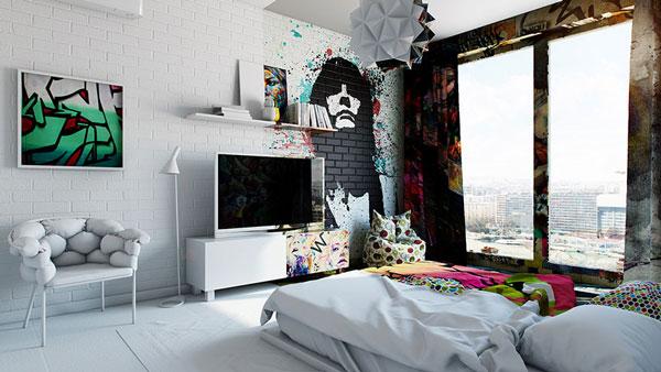 perierga.gr - Δωμάτιο ξενοδοχείου... κομμένο στη μέση!