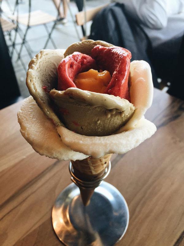perierga.gr - Λουλούδια από... παγωτό!