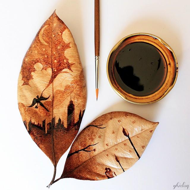 perierga.gr - Καλλιτεχνικές δημιουργίες με καφέ!