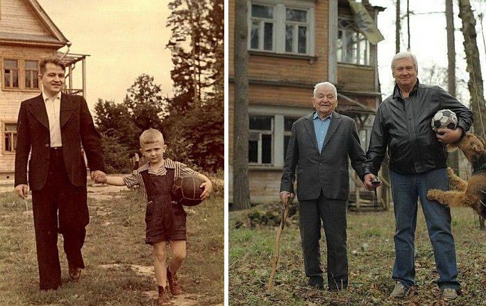 perierga.gr - Aναπαράσταση παλιών φωτογραφιών!