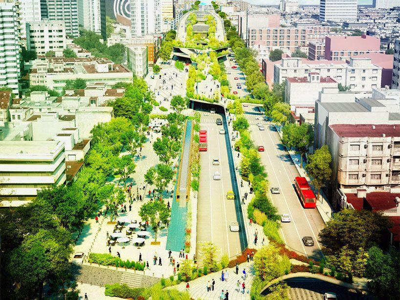 """perierga.gr - Δρόμος """"μεταμορφώνεται"""" σε αστικό πάρκο!"""