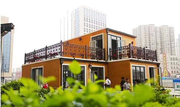 perierga.gr - Κινέζικη εταιρεία κατασκευάζει σπίτια σε 3 ώρες!