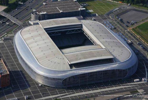 Perierga.gr - Το ποδοσφαιρικό γήπεδο που θα χρησιμοποιηθεί στο Eurobasket