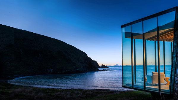 perierga.gr - Απομονωμένη γυάλινη κατοικία με θέα τον ωκεανό!