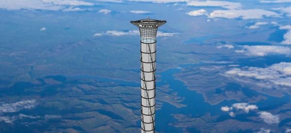 Perierga.gr - Ανελκυστήρας που... οδηγεί στο διάστημα!