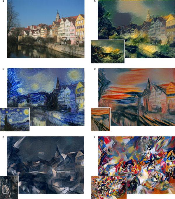perierga.gr - Αλγόριθμος μετατρέπει τις φωτογραφίες σε διάσημους πίνακες ζωγραφικής!