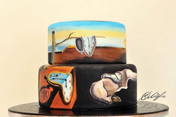 perierga.gr - Διάσημοι πίνακες αποτυπώνονται πάνω σε τούρτες!
