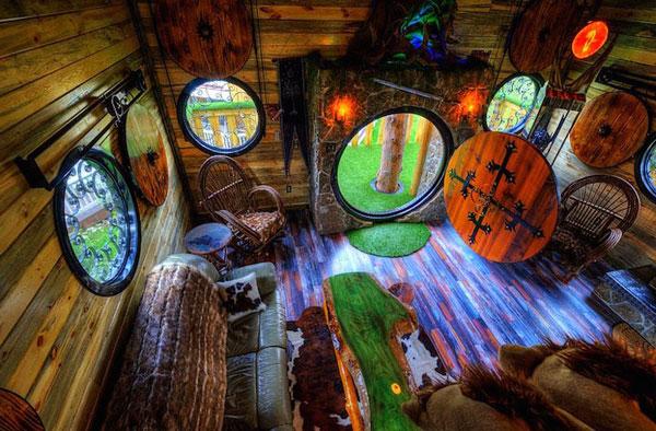 perierga.gr - Ξενοδοχείο για... Hobbit άνοιξε τις πόρτες του!