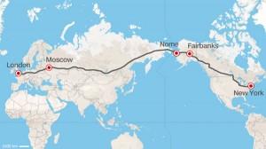 perierga.gr - Λονδίνο-Νέα Υόρκη: Ο αυτοκινητόδρομος των 21.000 χλμ.!