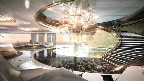 Πλωτό παλάτι αξίας δισεκατομμυρίων!