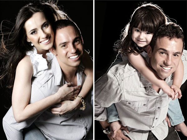 perierga.gr - Μπαμπάς & κόρη αναδημιουργούν φωτογραφίες της νεκρής μαμάς!