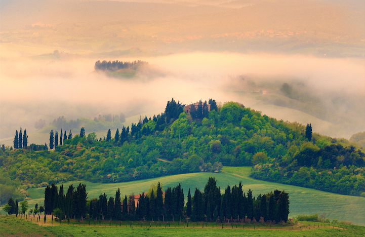 perierga.gr - Η ομορφιά της Τοσκάνης το φθινόπωρο!