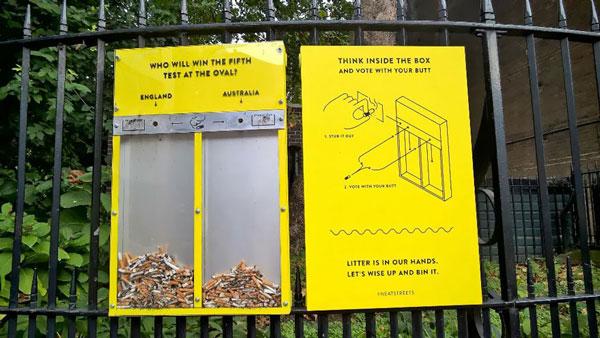 perierga.gr - Το Λονδίνο... πολεμάει τα αποτσίγαρα!