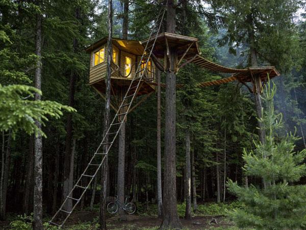 perierga.gr - Μικρά σπιτάκια στο δάσος!