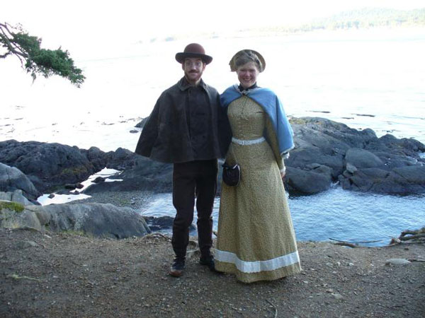 perierga.gr - Ζευγάρι Αμερικανών ζει στο 1880!