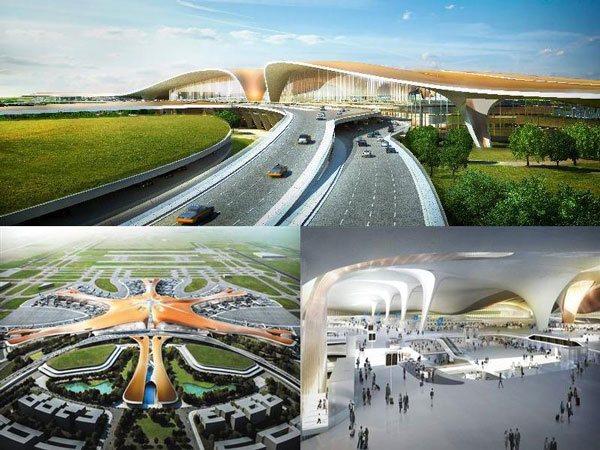 perierga.gr - Το μεγαλύτερο αεροδρόμιο στον κόσμο ετοιμάζεται στο Πεκίνο!