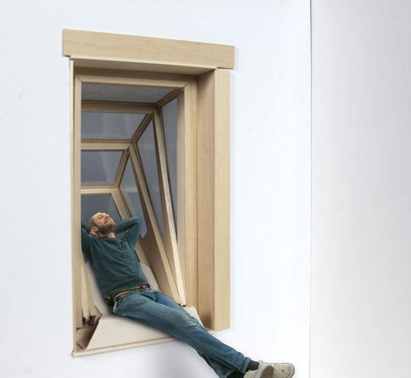 """perierga.gr - """"Περισσότερος ουρανός"""" μέσα από ένα πρωτότυπο παράθυρο!"""