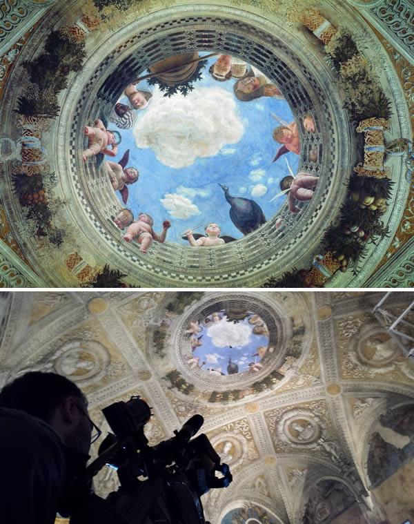 perierga.gr - Εντυπωσιακές οροφές σε διάφορα κτήρια!