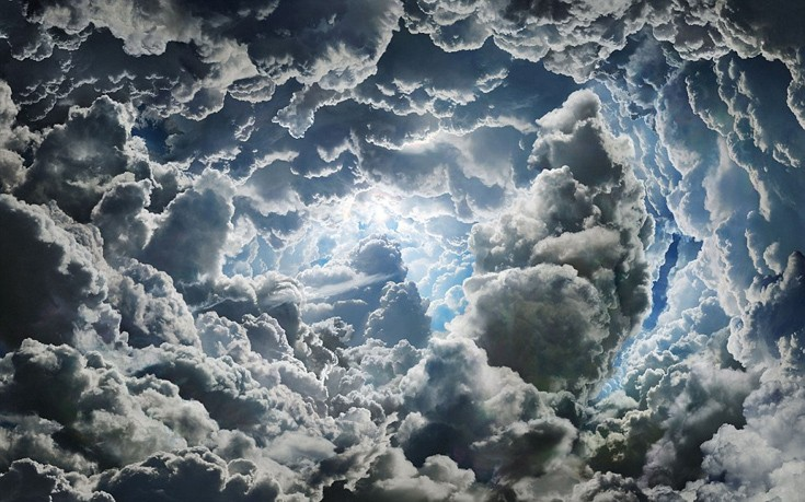 perierga.gr - Ο νεφοσκεπής ουρανός σε όλο του το μεγαλείο!