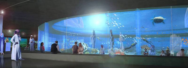 perierga.gr - Μουσείο... κάτω από το νερό!