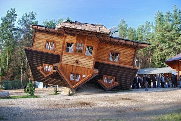 perierga.gr - Αναποδογυρισμένα σπίτια στον κόσμο!