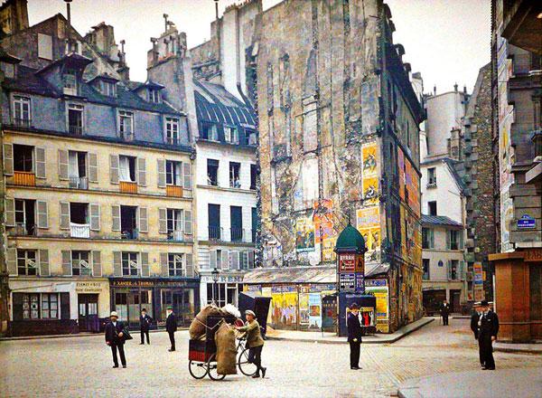 perierga.gr - Σπάνιες έγχρωμες εικόνες του Παρισιού τραβηγμένες έναν αιώνα πριν!