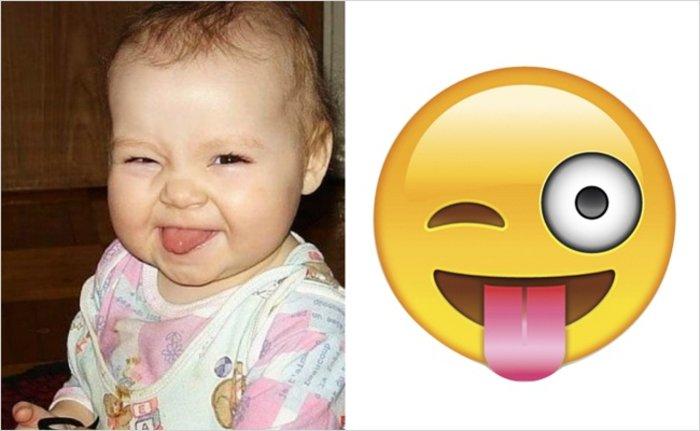 perierga.gr - Μωρά που μοιάζουν με Emojis!