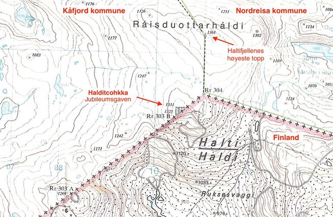 perierga.gr - Γιατί οι Νορβηγοί χαρίζουν βουνό στη Φινλανδία;
