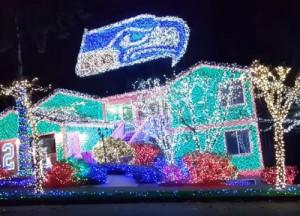 perierga.gr - Tο σπίτι με τα περισσότερα χριστουγεννιάτικα φωτάκια!
