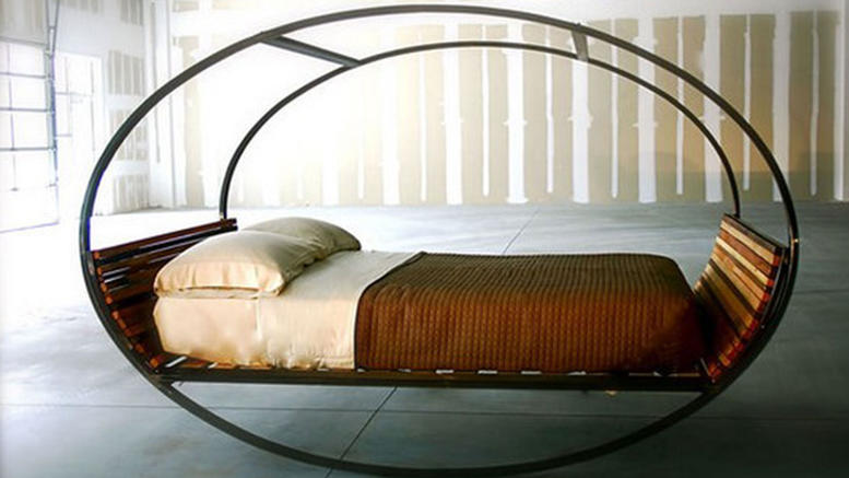 perierga.gr - Φουτουριστικό κρεβάτι καταπολεμά την αϋπνία!
