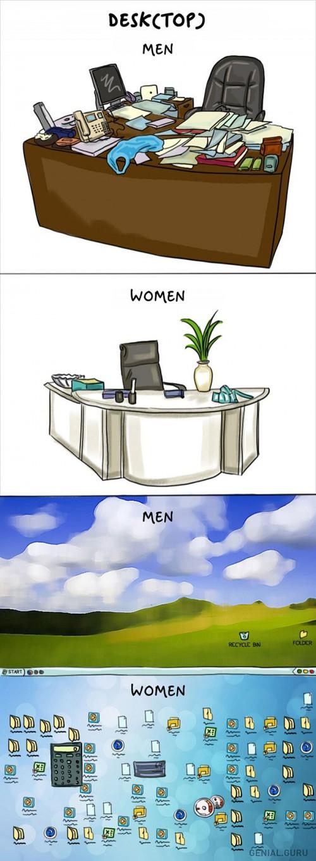 perierga.gr - Οι διαφορές ανάμεσα στα δύο φύλα...