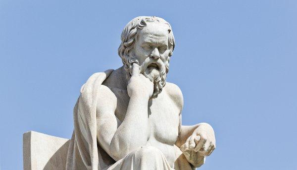 """perierga.gr - Ο Σωκράτης περιγράφει τον """"μορφωμένο άνθρωπο""""!"""