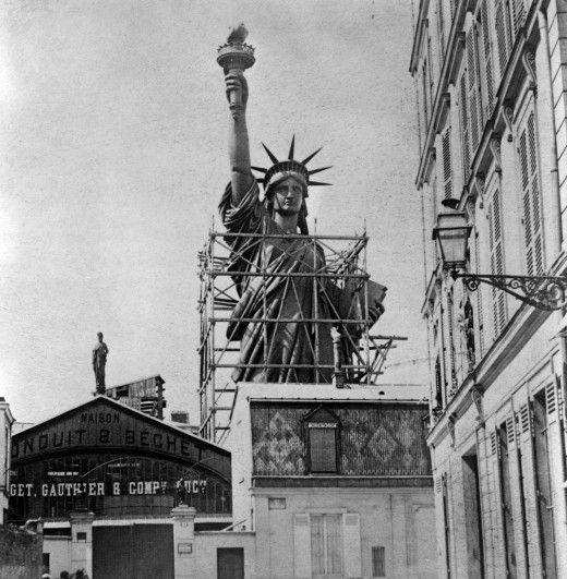 perierga.gr - Το Άγαλμα της Ελευθερίς το έφτιαξε ο Άιφελ!