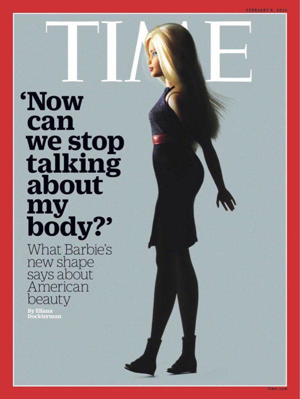 perierga.gr - Η Barbie με... καμπύλες πρωτοσέλιδο στο TIME!