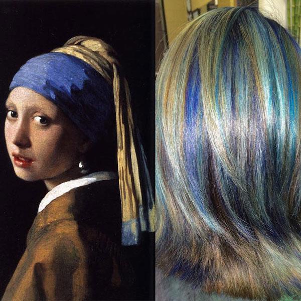 perierga.gr - Μαλλιά βαμμένα σαν... έργα τέχνης!