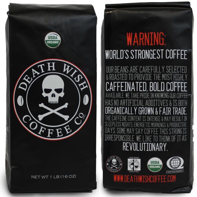 perierga.gr - Death Wish: Ο πιο δυνατός καφές!