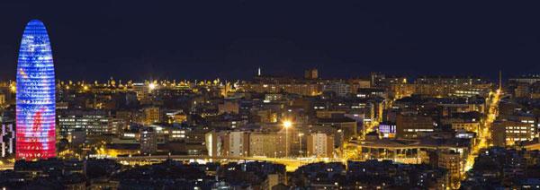 perierga.gr - Εντυπωσιακά φωτισμένες πόλεις το βράδυ!