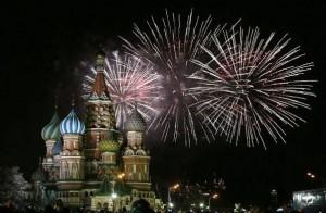 perierga.gr - Πετάξτε με drone πάνω από τη γιορτινή Μόσχα!