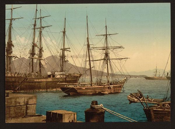 perierga.gr - Η πανέμορφη Νάπολη του 1900!