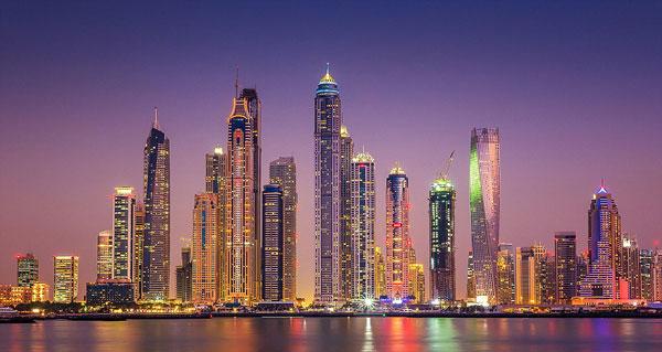 perierga.gr - Το Ντουμπάι τη νύχτα είναι μαγευτικό!