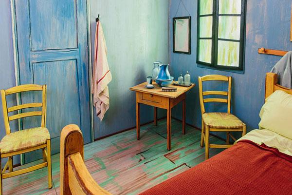 """perierga.gr - Το """"Δωμάτιο του Bαν Γκογκ""""... ζωντανεύει και είναι διαθέσιμο στην Airbnb!"""