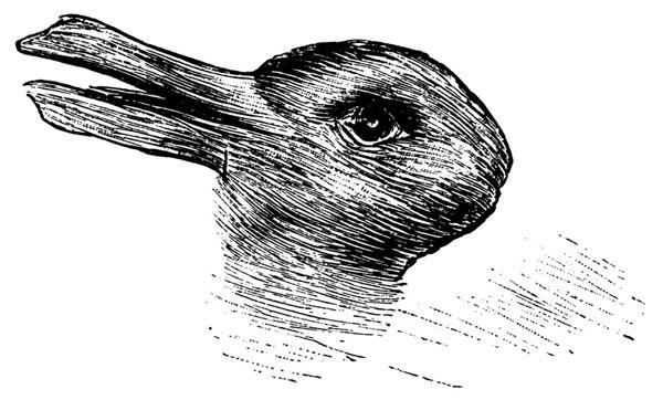 perierga.gr - Τι ζώο βλέπετε στην εικόνα; Πάπια ή κουνέλι;