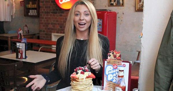 perierga.gr - 21χρονη βγάζει χρήματα τρώγοντας τα πάντα γρήγορα!