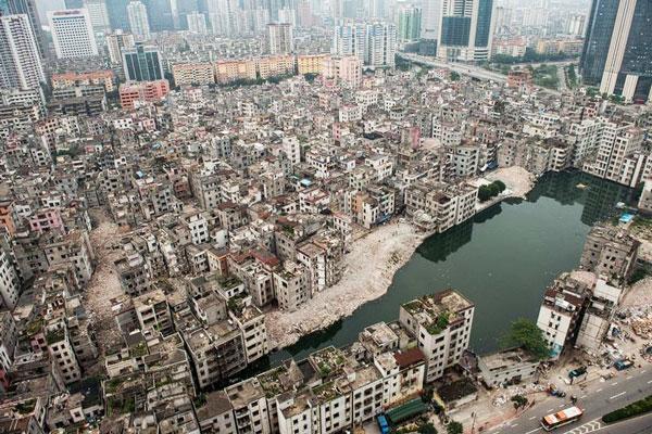 perierga.gr - Τα παράξενα... αστικά χωριά της Κίνας!