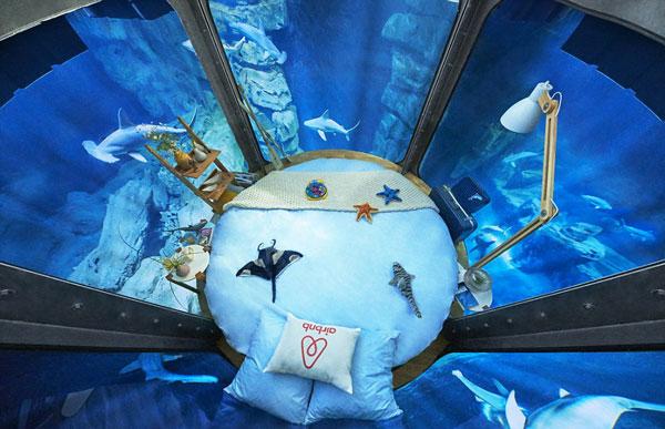 perierga.gr - Το πρώτο υποβρύχιο δωμάτιο της Airbnb είναι γεγονός!