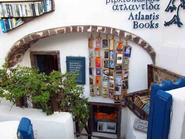 perierga.gr - Βιβλιοπωλείο στη Σαντορίνη κορυφαίο στον κόσμο, από το National Geographic!